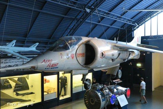 Science Museum: Flight Gallery - Harrier prototype
