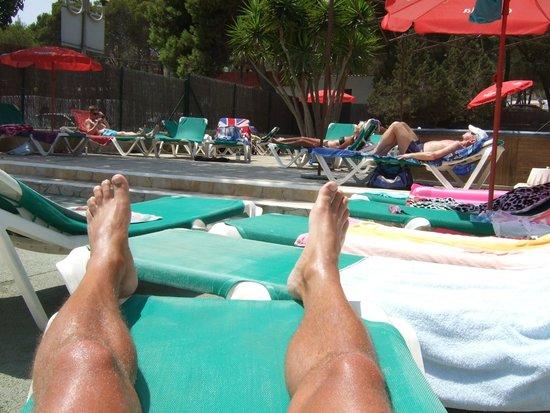 Es Cana Playa Apartments: Pool area