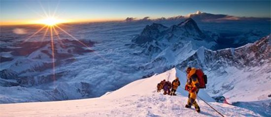 Mt. Everest Base Camp : follow your team leader instruction & don't forget the ropes