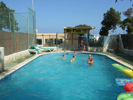 Es Cana Playa Apartments: Pool