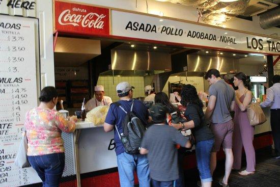 Los Tacos No. 1: Fast service