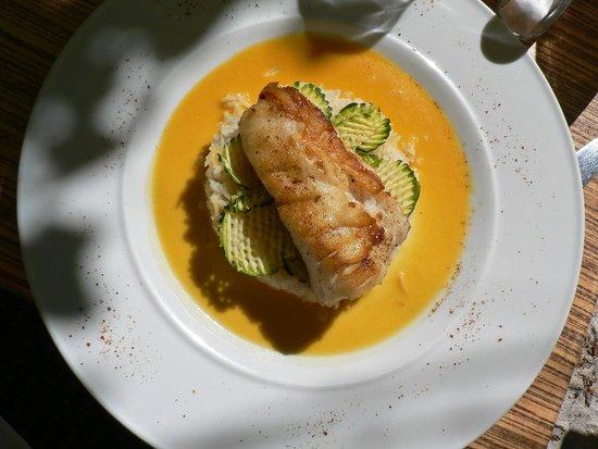 Bistrot 2 : рыба в апельсиновом соусе