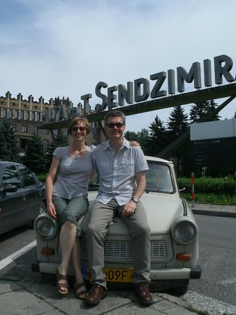 Crazy Guides - Private Tours: The trusty trabant!