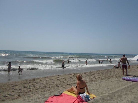 Mediterraneo Park: praia