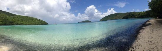 Maho Beach: The view from the shore
