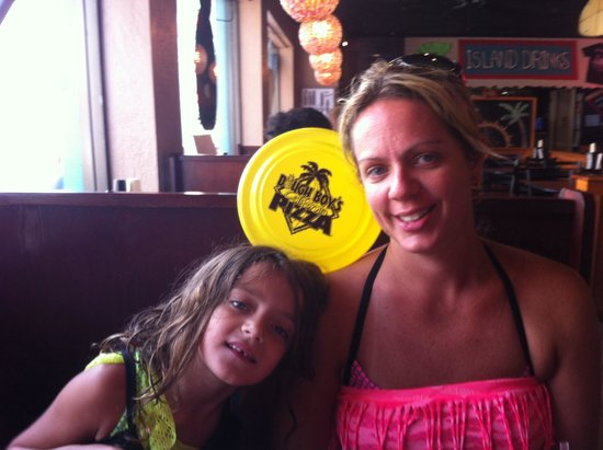 Dough Boy's California Pizza : Very kid friendly!