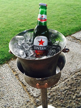 Ramada Bintang Bali Resort: Bali champagne