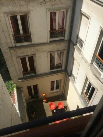 New Hotel Lafayette: view
