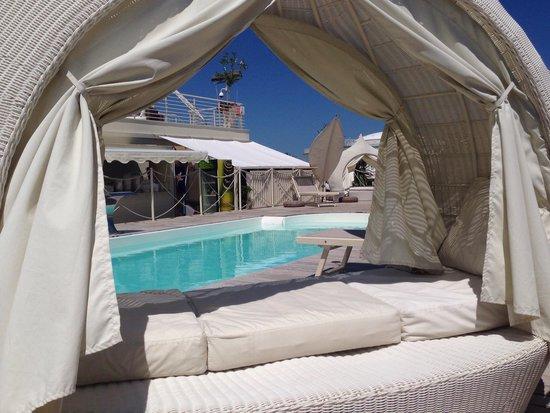 Piscina in spiaggia - Picture of Terrazza Marconi Hotel & SpaMarine ...