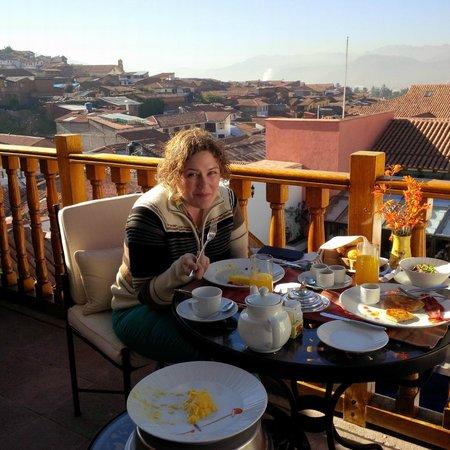 Belmond Palacio Nazarenas : Breakfast!