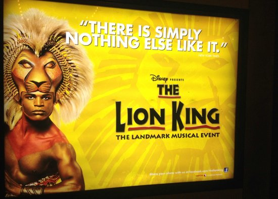The Lion King: Lion King Poster @ Minskoff Theatre