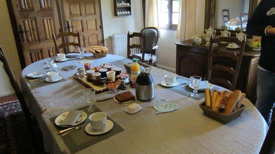 Marolles, France : colazione