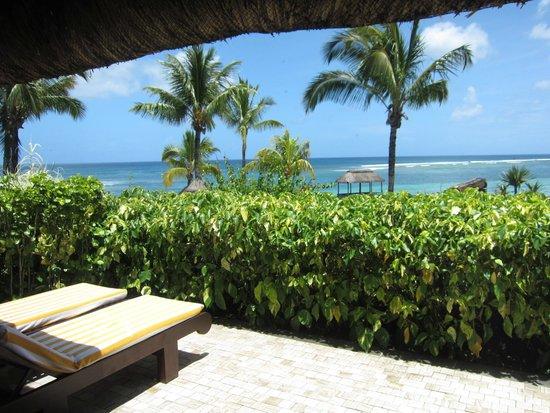 The Oberoi, Mauritius : 部屋からの眺め