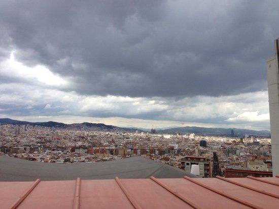 Xalet de Montjuic : Window table view