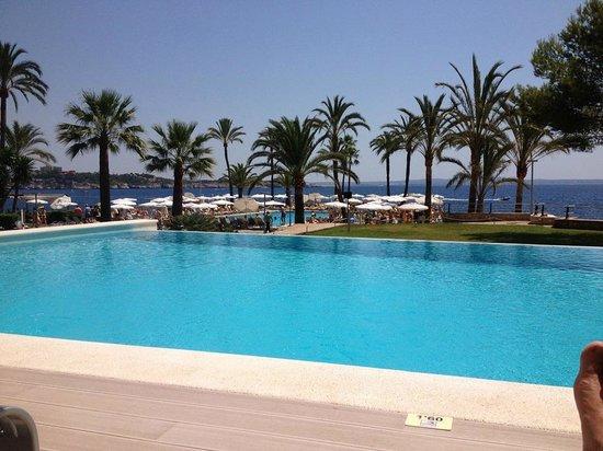 Hotel Riu Palace Bonanza Playa : The adult pool