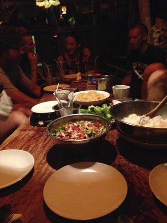 Kunda Vegetarian Cafe : Dinner at Kunda