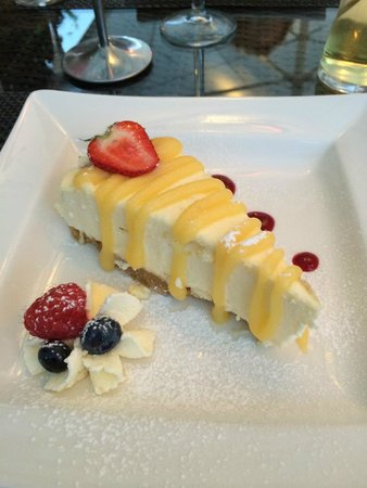 The Queens Head: Very tasty cheescake
