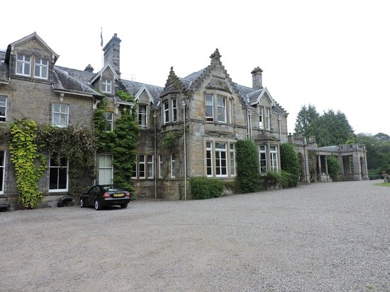 Solsgirth House: External view of Solsgirth