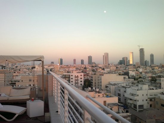 The Savoy Tel-Aviv Sea Side: View from the top roof