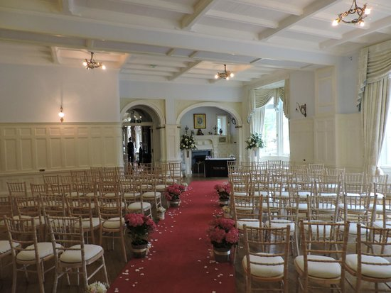 Solsgirth House: Ballroom used for wedding cermeony