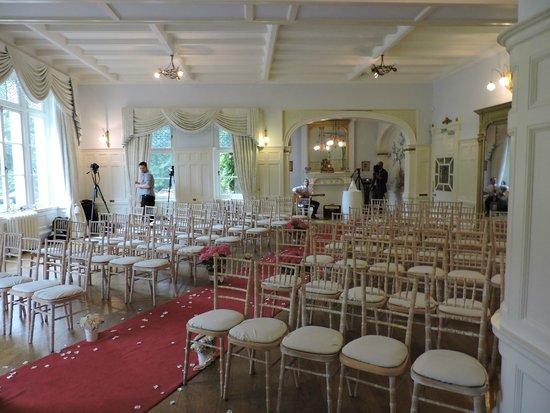 Solsgirth House: Ballroom used for wedding cermeony