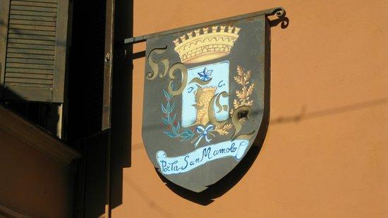 Hotel Porta San Mamolo : Hotel Sign