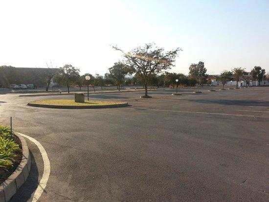 Indaba Hotel: car park