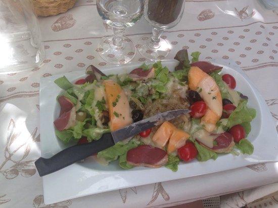 Les Bellugues : Salade d'été