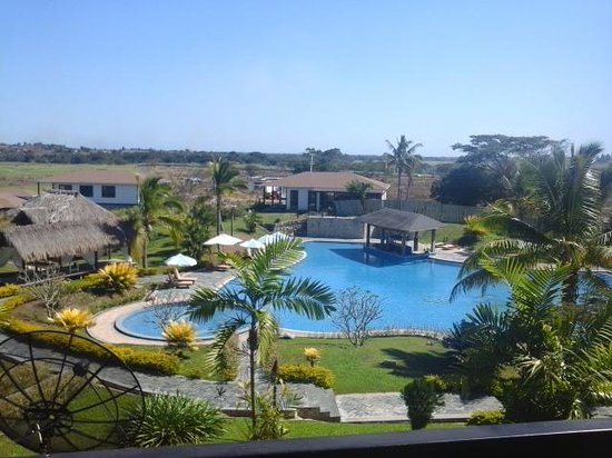 Manhao Hotel : View from our room....Beautiful