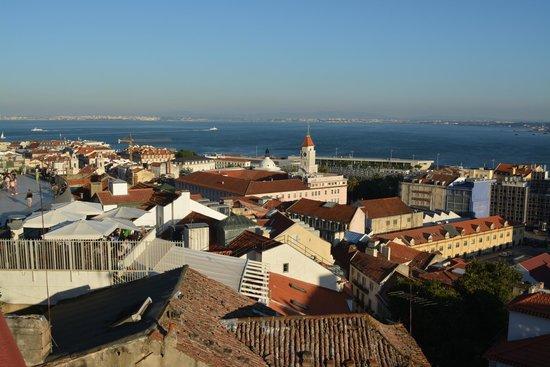 Ribeira Tejo by Shiadu : view from hotel restaurant at Monte Belvedere