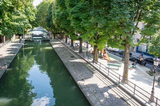 Hotel Magenta 38 by HappyCulture: Lock By the Canal Saint Martin