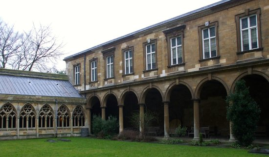 Lincoln Cathedral: The Wren Library in the Cloister