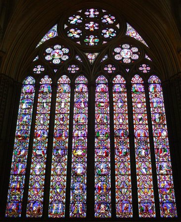 Lincoln Cathedral: The awe-inspiring East Window