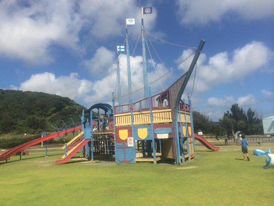 Cape Ayamaru Kanko Park: ちびっ子は発散できます。