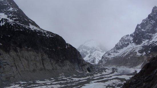 Vallee Blanche: Valle Blanche Abril 14