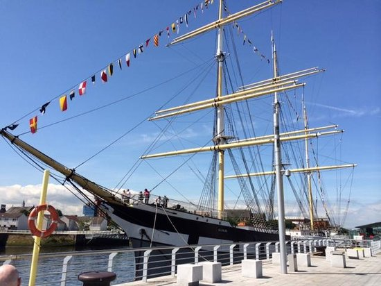 "The Riverside Museum of Transport and Travel: ""Glenlee"""