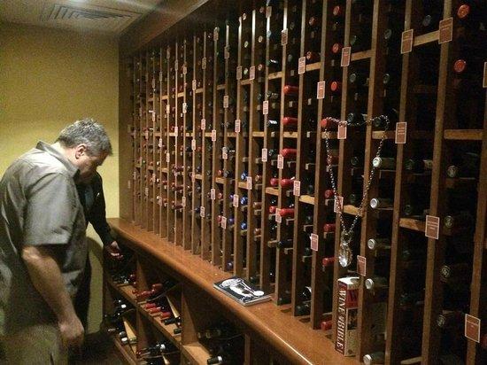 Dreams Tulum Resort & Spa : Wine Cellar
