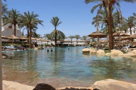 Tropicana Rosetta & Jasmine Club : The Lagoon style pool