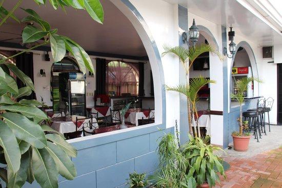 Hotel Santo Tomas: Dining area