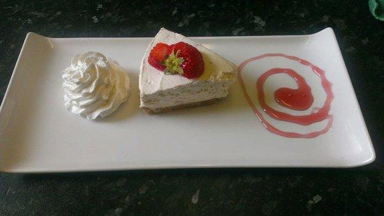 Cafe L'etage: Strawberry cheesecake
