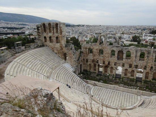 Herod Atticus Odeon: イロド・アティコス音楽堂