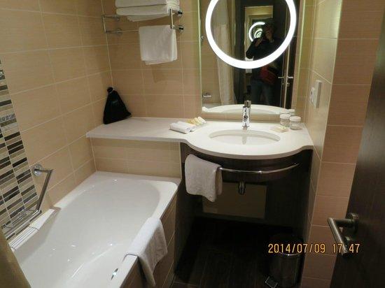 Hilton Garden Inn Frankfurt Airport: Bath Room