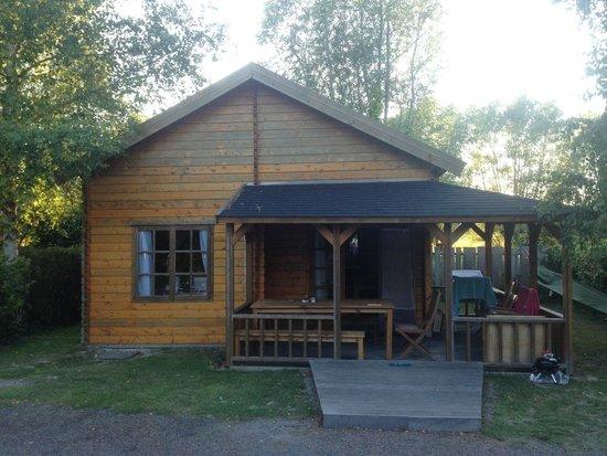 Camping De L'ile Verte : Le chalet...