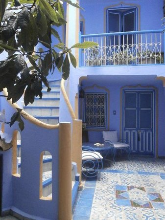 Hotel Dar Terrae: Courtyard