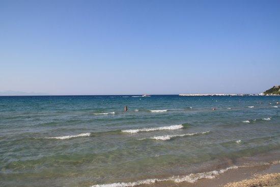 Alykanas Beach Apart-Hotel: shallow water