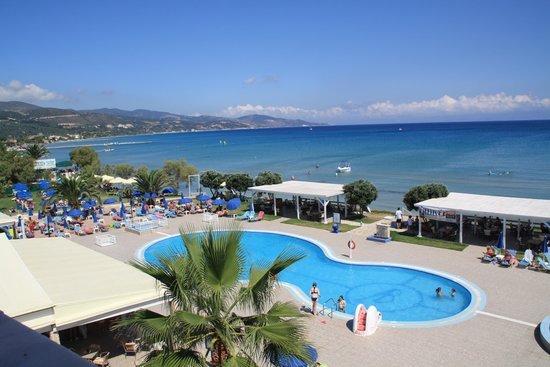 Alykanas Beach Apart-Hotel: View from second floor