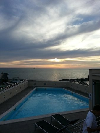 Hotel Tiber Fiumicino: Roof top pool
