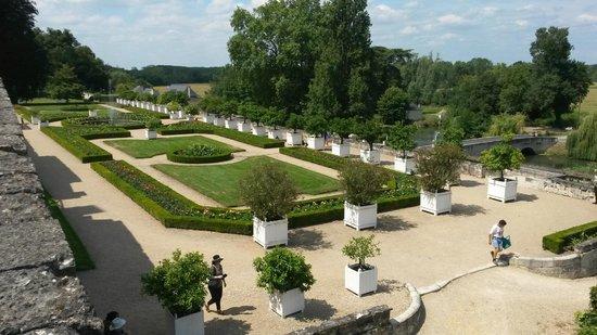 Jardins château d'Ussé