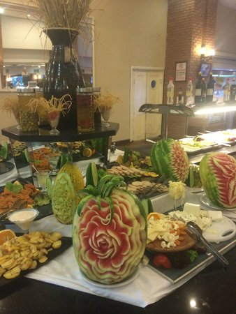 Grand Yazici Club Marmaris Palace: dessert tables