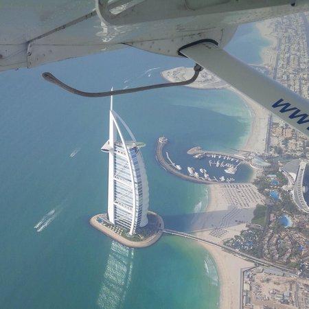 Seawings Seaplane Tours: Burj El Arab view